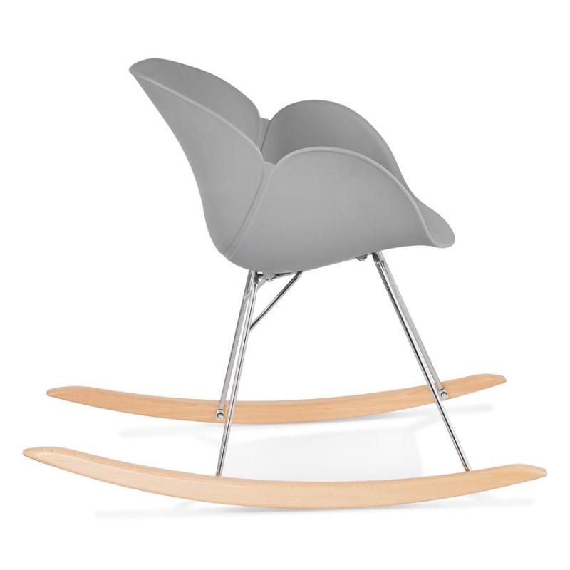 Design EDEN (hellgrau) aus Polypropylen Stuhl Schaukeln - image 36973
