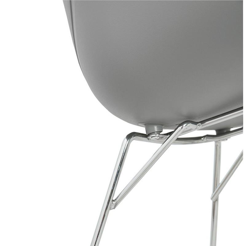 Design EDEN (hellgrau) aus Polypropylen Stuhl Schaukeln - image 36979