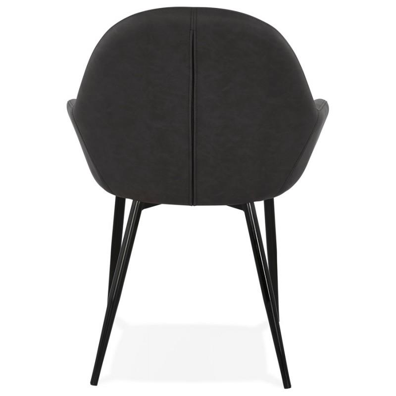 Sedia design e moderno SHELA (grigio scuro) - image 37173