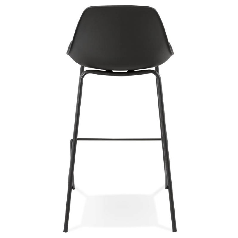 Bar bar halfway up industrial OCEANE MINI (black) chair stool - image 37386