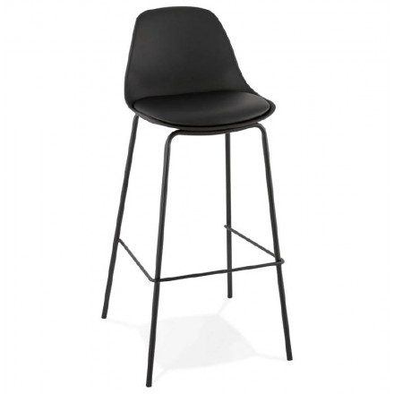Industrial bar OCEANE (black) Chair bar stool