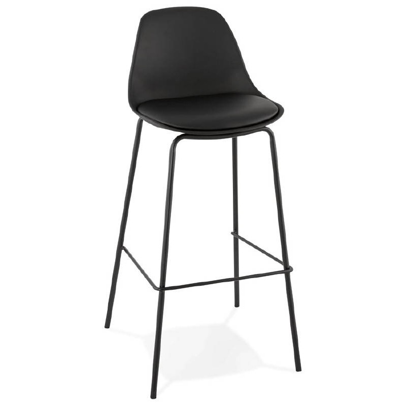 Industrial bar OCEANE (black) Chair bar stool - image 37408