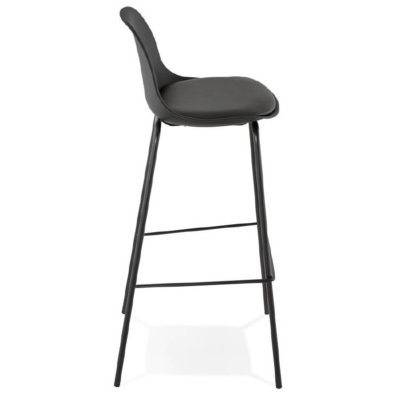 Industrial bar OCEANE (black) Chair bar stool - image 37410