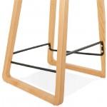 Bar bar halfway up Scandinavian SCARLETT MINI (powder pink) chair stool