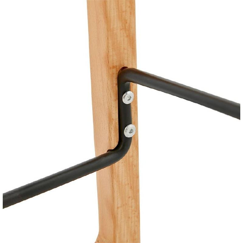 Tabouret de bar chaise de bar mi-hauteur scandinave SCARLETT MINI (rose poudré) - image 37494