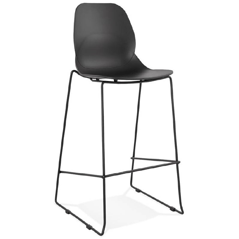 tabouret de bar chaise de bar industriel empilable. Black Bedroom Furniture Sets. Home Design Ideas