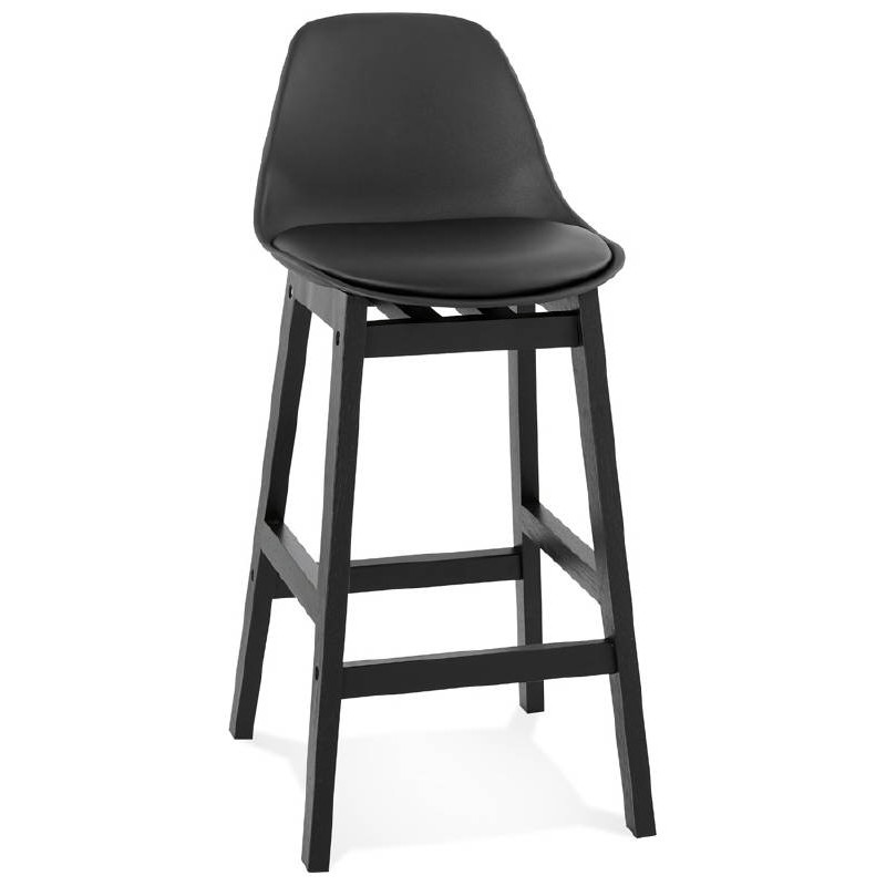 Astonishing Bar Bar Design Mid Height Jack Mini Black Chair Stool Designer Bar Stools Inzonedesignstudio Interior Chair Design Inzonedesignstudiocom