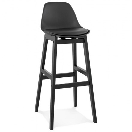 Barstool design bar JACK Chair (black)
