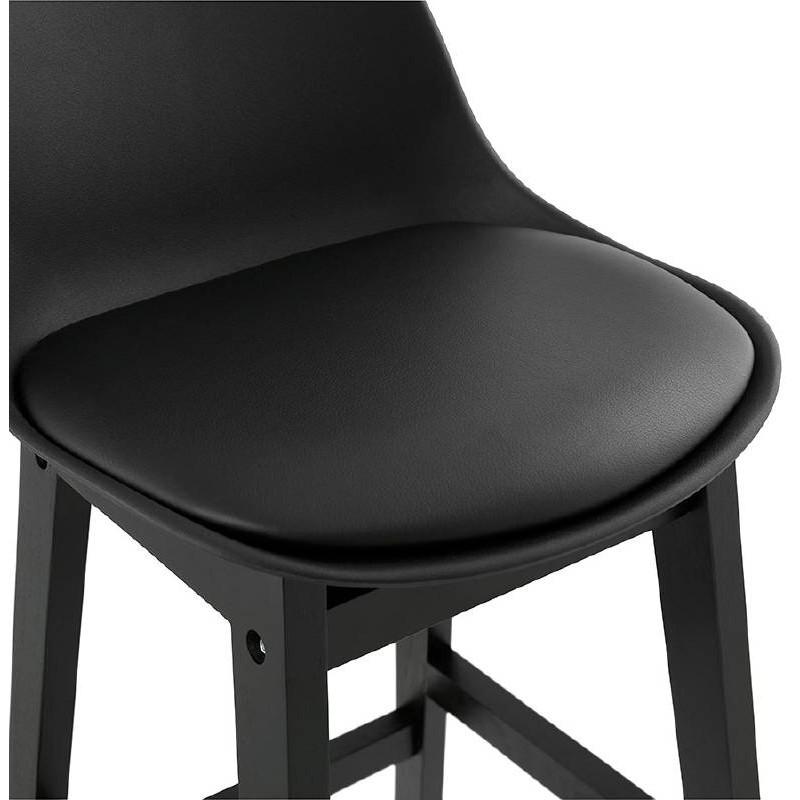 Tabouret de bar chaise de bar design JACK (noir) - image 37635