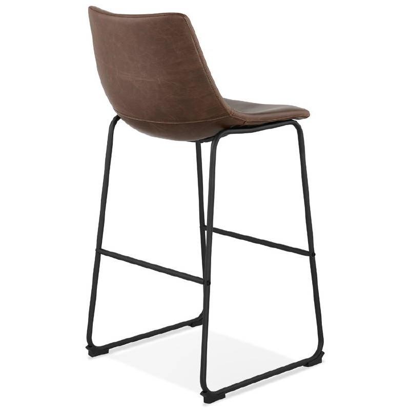 Tabouret de bar chaise de bar vintage JOE (marron) - image 37656