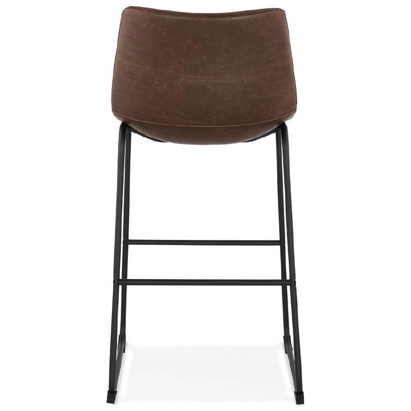 Tabouret de bar chaise de bar vintage JOE (marron) - image 37657