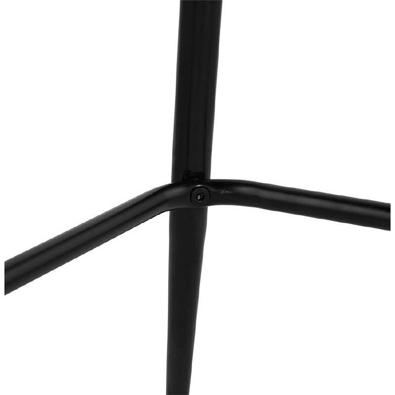 Sedia bar Sgabello da bar design metà altezza JOSEPH MINI (grigio scuro) - image 37676