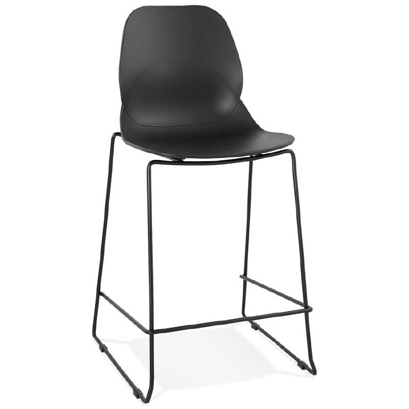 tabouret de bar chaise de bar industriel mi hauteur. Black Bedroom Furniture Sets. Home Design Ideas