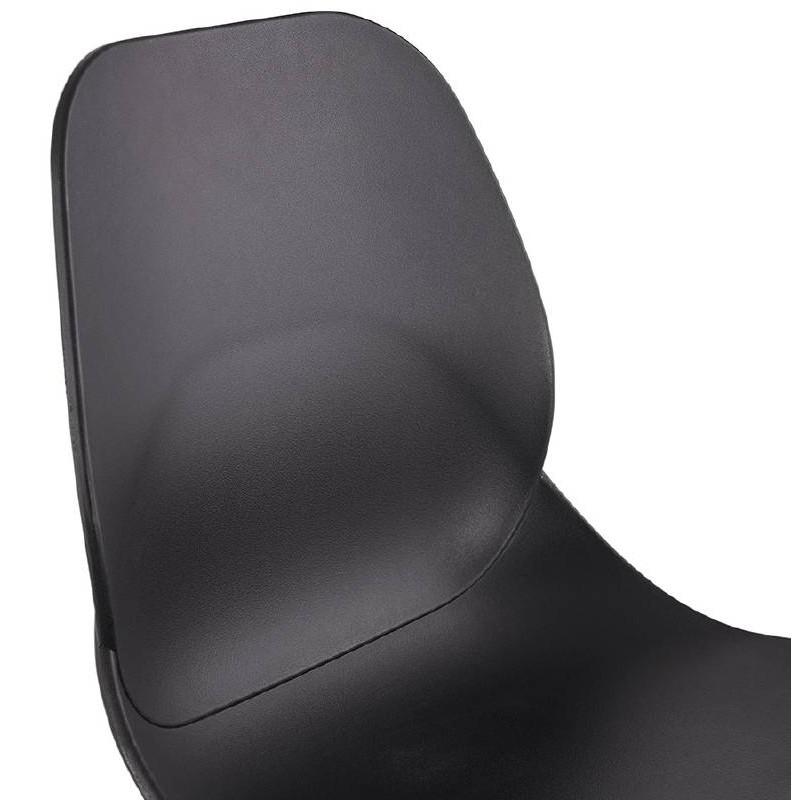 La barra hasta la mitad taburete de la silla de PACO escandinavo (negro) - image 38159
