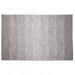 Teppich design rechteckig (230 X 160 cm) Basil (grau) Baumwolle