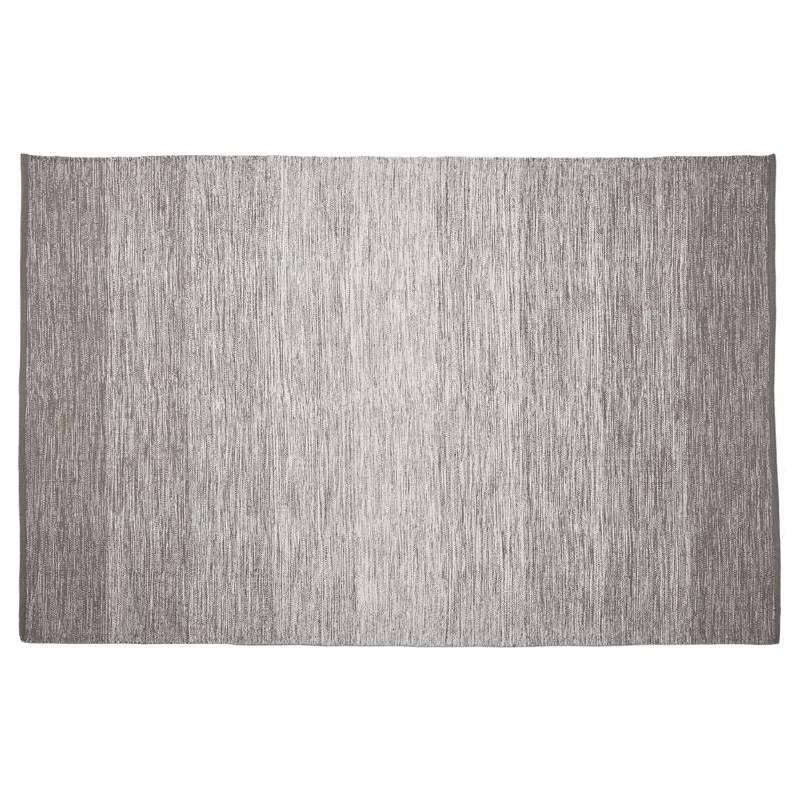 Tappeto design rettangolare (230 X 160 cm) cotone Basil (grigio) - image 38517