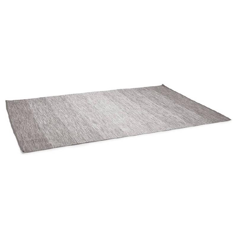 Tappeto design rettangolare (230 X 160 cm) cotone Basil (grigio) - image 38518