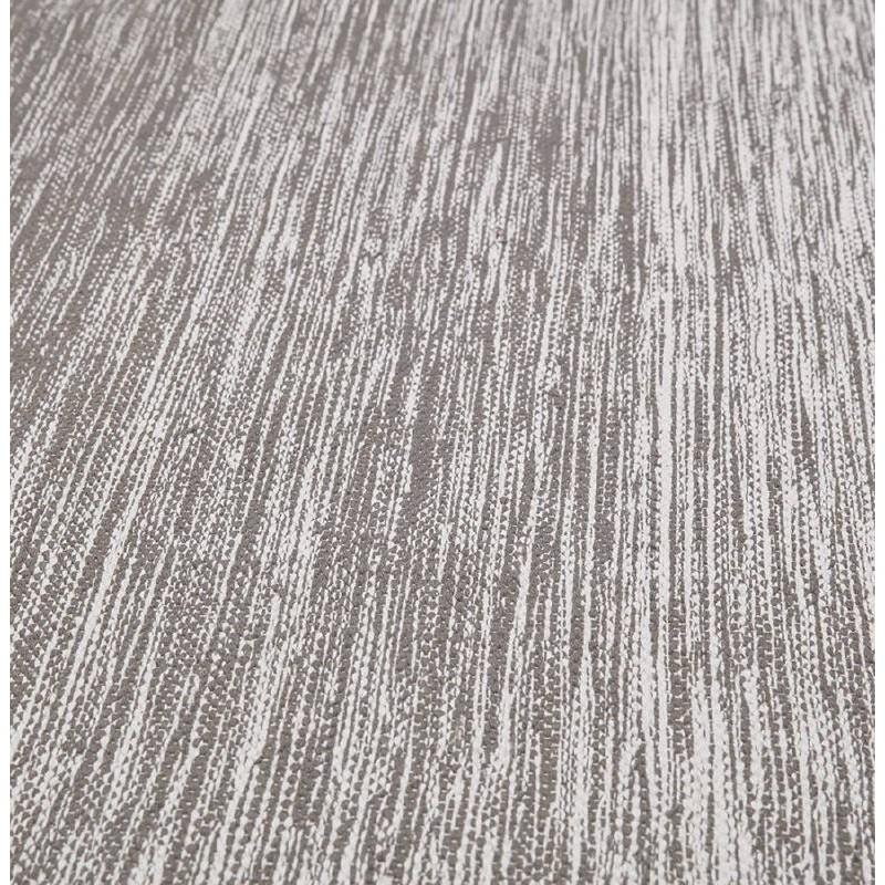 Tappeto design rettangolare (230 X 160 cm) cotone Basil (grigio) - image 38526
