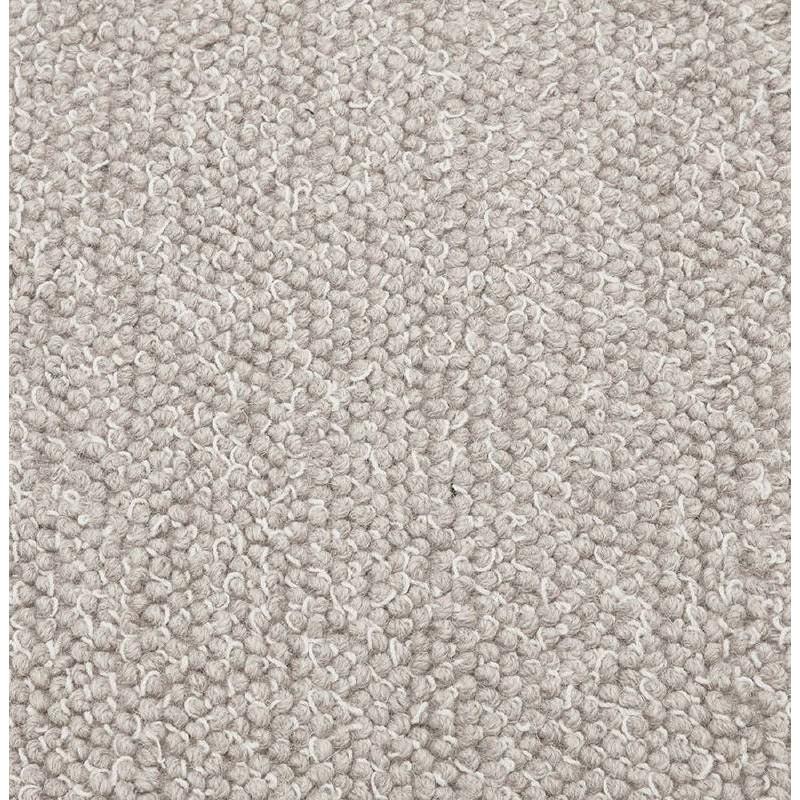 Tapis design rectangulaire (230 cm X 160 cm) BADER en laine (gris) - image 38603