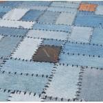 Rug rectangular fun (230 cm X 160 cm) GABIE in jeans (blue)