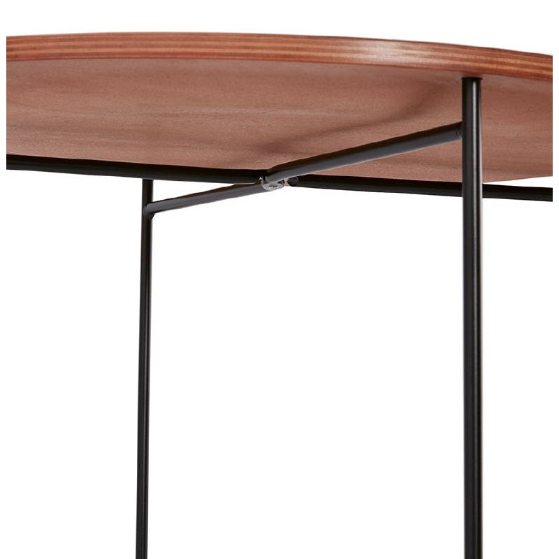 table d 39 appoint bout de canap industriel zack noyer. Black Bedroom Furniture Sets. Home Design Ideas