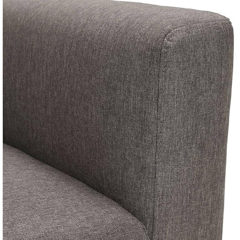 Fauteuil design IRINA en tissu (gris foncé) - image 38887