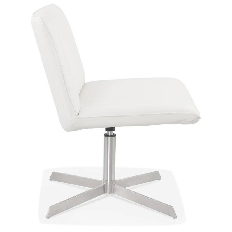 Fauteuil design pivotant MIRANDA (blanc) - image 38948