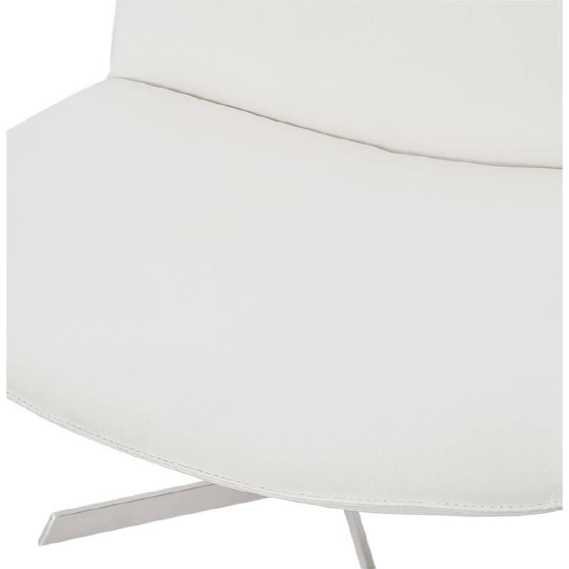 Fauteuil design pivotant MIRANDA (blanc) - image 38951
