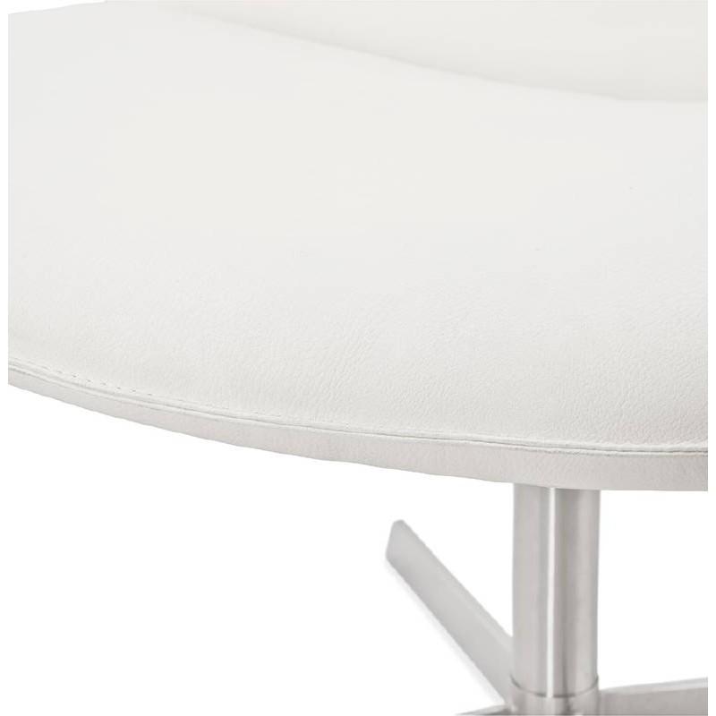 Fauteuil design pivotant MIRANDA (blanc) - image 38952