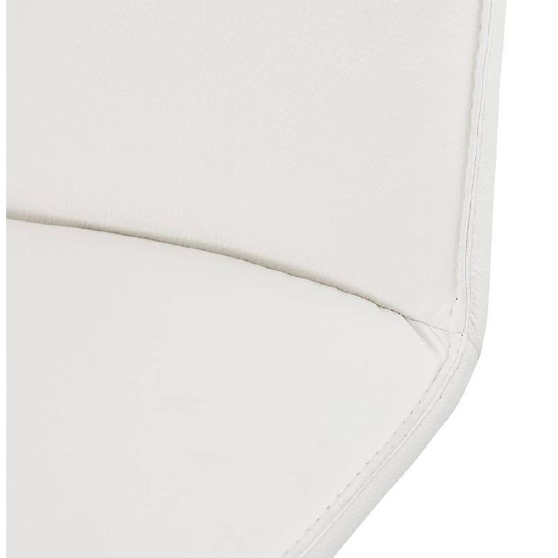 Fauteuil design pivotant MIRANDA (blanc) - image 38955
