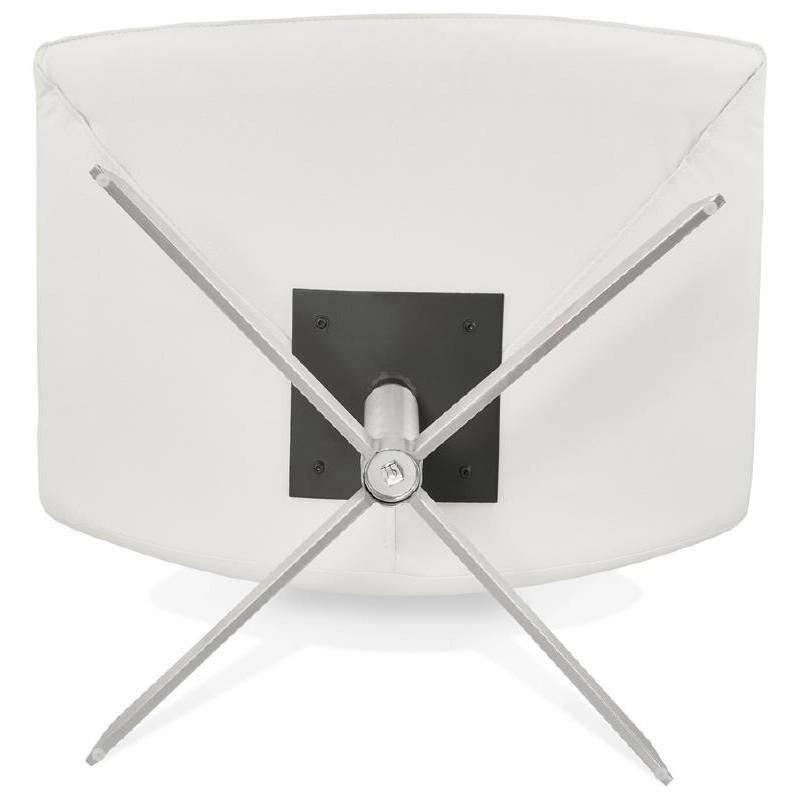 Fauteuil design pivotant MIRANDA (blanc) - image 38957