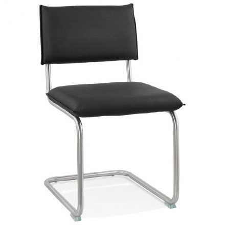 Chair design padded COLOMBA (black)