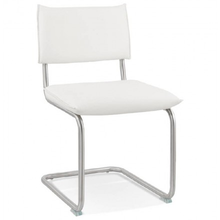 Chair design padded COLOMBA (white)