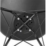 Diseño estilo industrial Presidente SANDRO (negro)