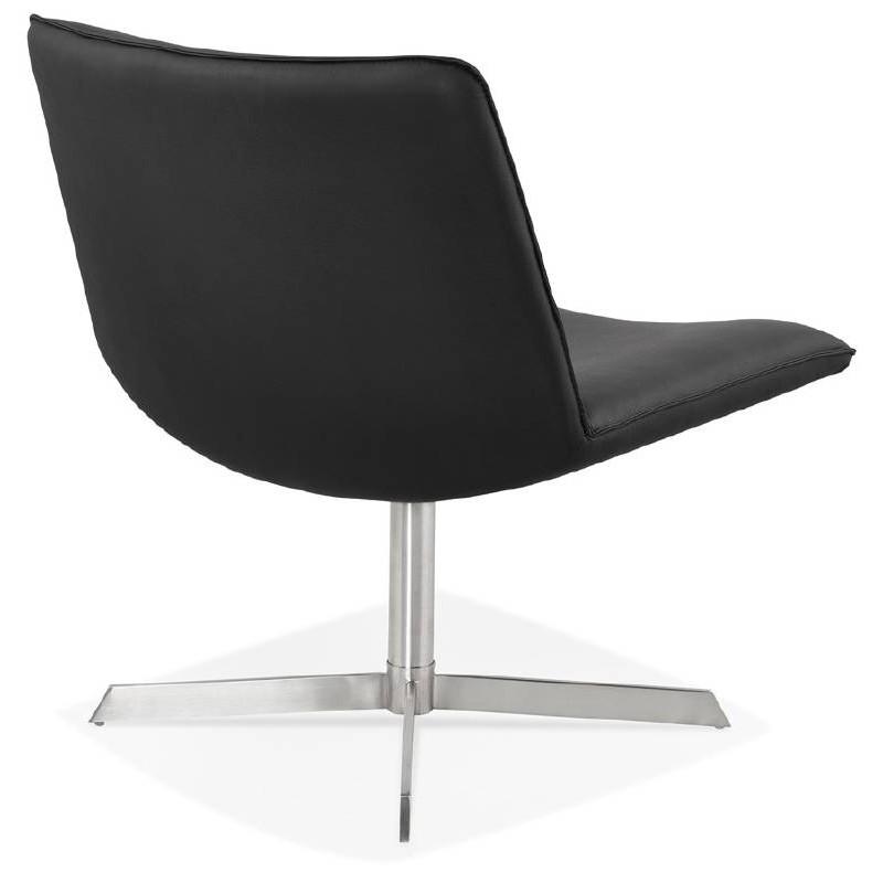 Fauteuil design pivotant MIRANDA (noir) - image 39070