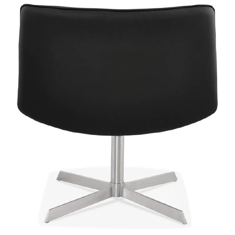 Fauteuil design pivotant MIRANDA (noir) - image 39071
