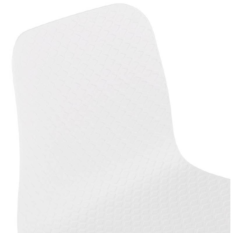 Chaise design scandinave CANDICE (blanc) - image 39459