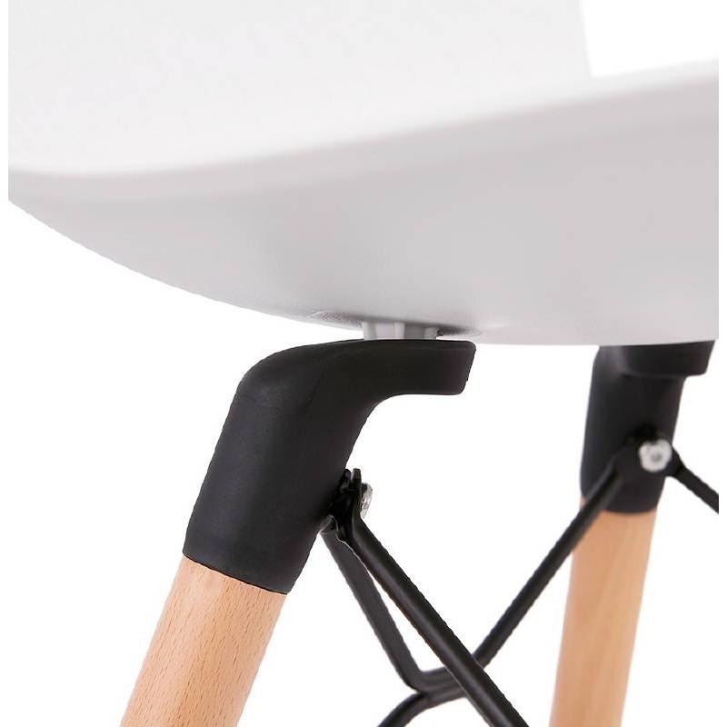 Chaise design scandinave CANDICE (blanc) - image 39464