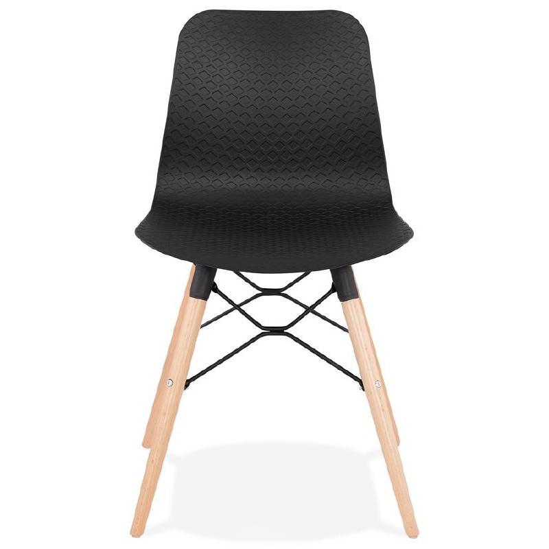 Scandinavian design chair CANDICE (black) - image 39470