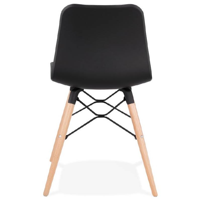 Skandinavisches Design Stuhl CANDICE (schwarz) - image 39473