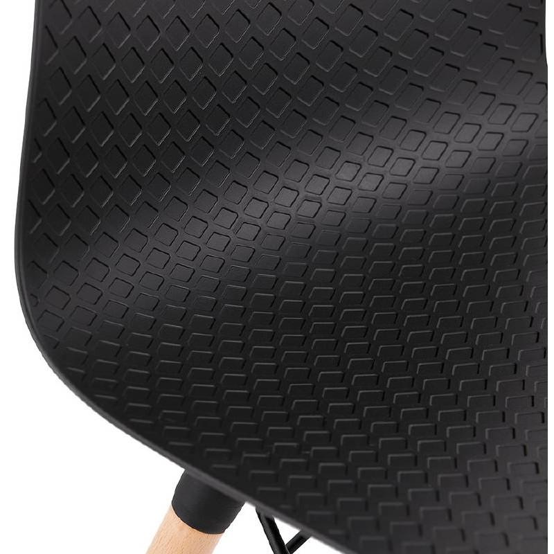 Skandinavisches Design Stuhl CANDICE (schwarz) - image 39478