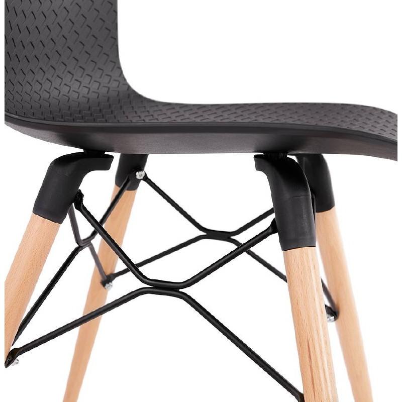 Skandinavisches Design Stuhl CANDICE (schwarz) - image 39479