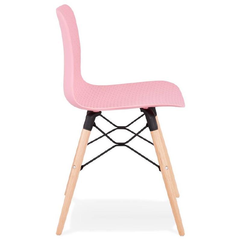 Skandinavisches designstuhl CANDICE (rosa) - image 39486