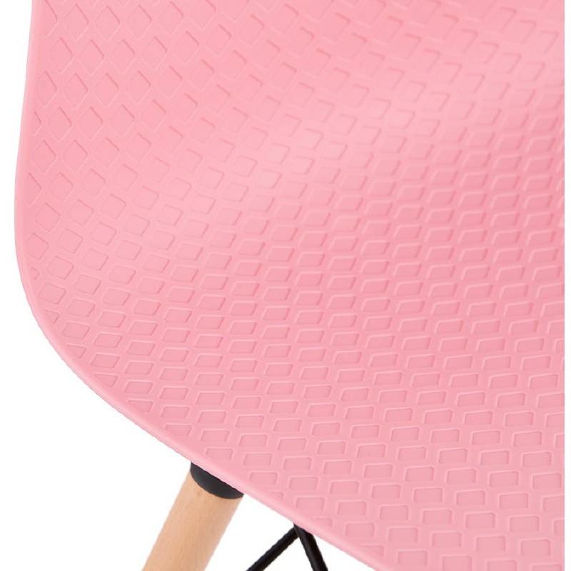 Sedia design scandinavo CANDICE (rosa) - image 39492