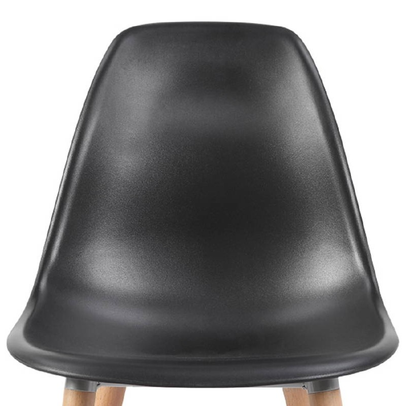 Scandinavian design chair ANGELINA (black) - image 39544