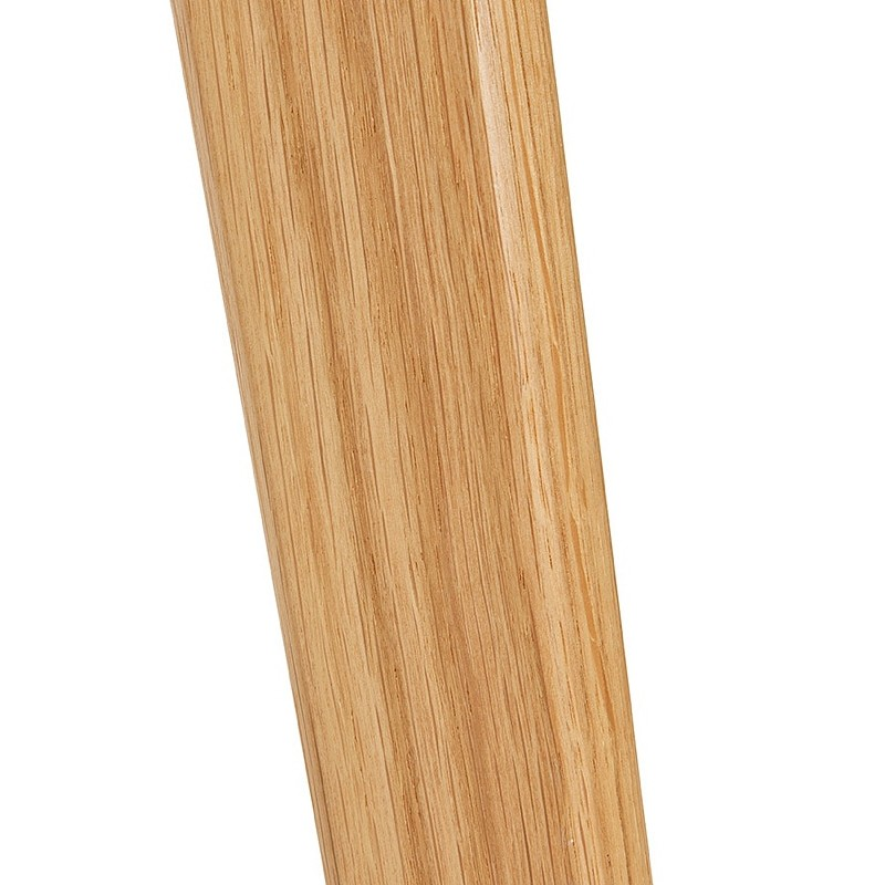 Table à manger design scandinave CLEMENTINE en bois (200x90x75 cm) (blanc) - image 39591