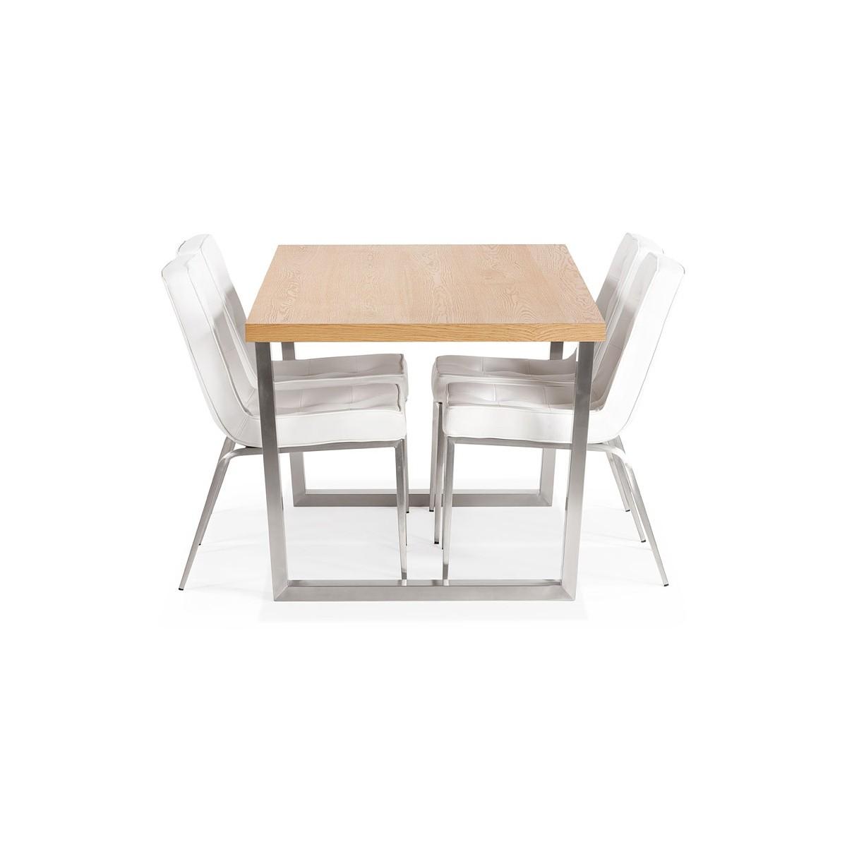 Pure Tavolo Da Pranzo In Legno Massello Tavolo Allungabile Tavolo Mobili Da Cucina White 120 160 X 70cm Tavoli Da Sala Da Pranzo Agoraguiers Arredamento