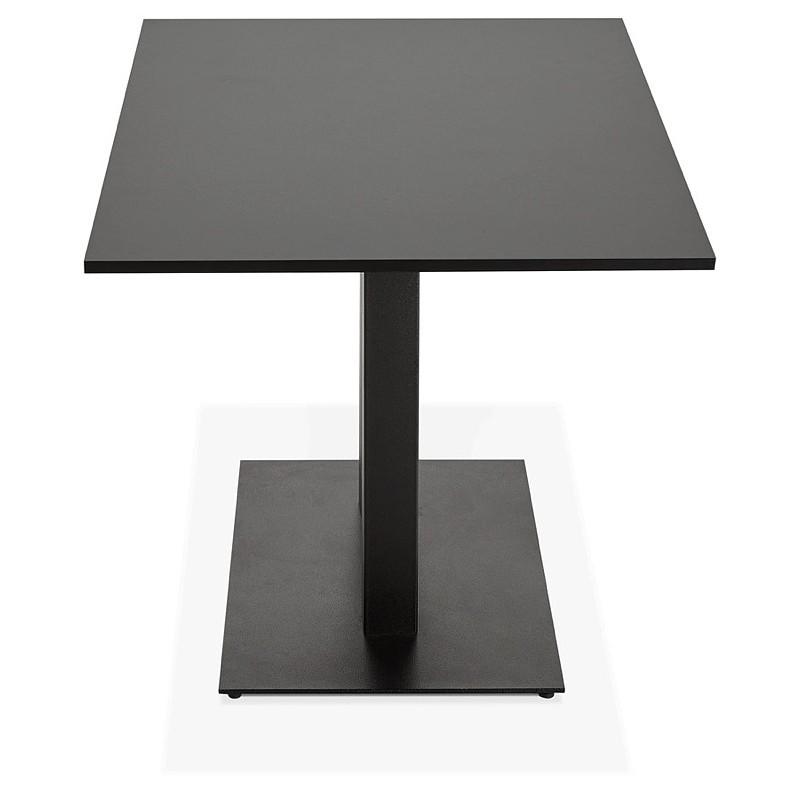 Table à manger design ou table de réunion LUCILE (160x80x75 cm) (noir) - image 39796
