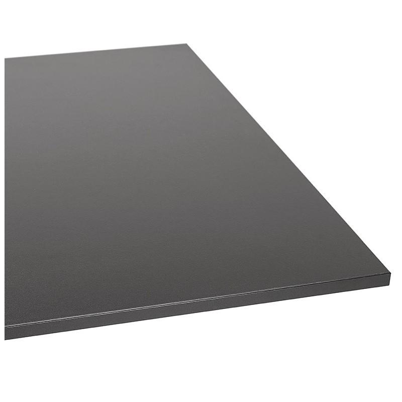 Table à manger design ou table de réunion LUCILE (160x80x75 cm) (noir) - image 39798