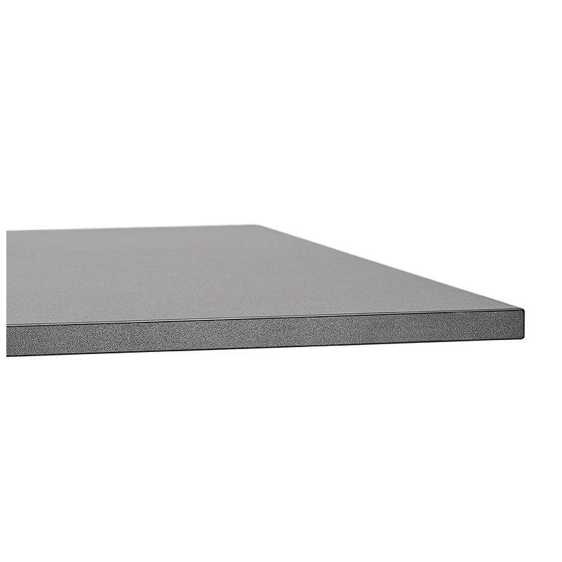 Table à manger design ou table de réunion LUCILE (160x80x75 cm) (noir) - image 39799